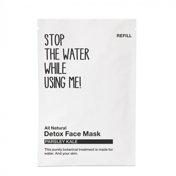 All Natural Parsley Kale Detox Face Mask Refill Sachet