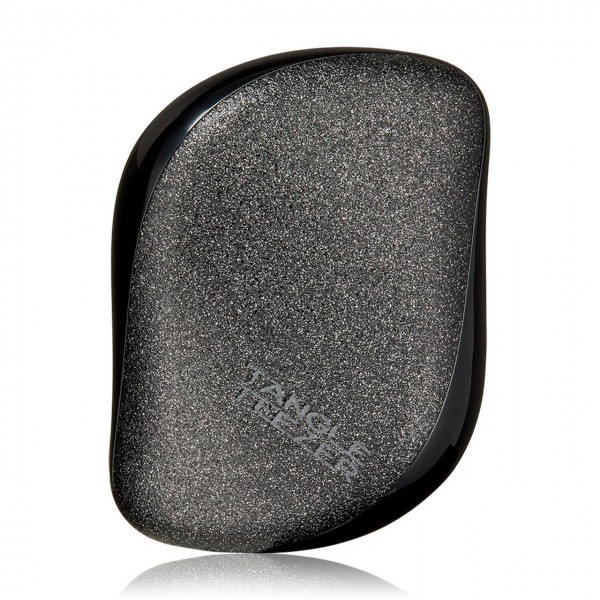 Compact Style Black Glitter