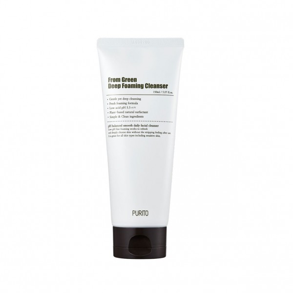 From Green Deep Foaming Cleanser