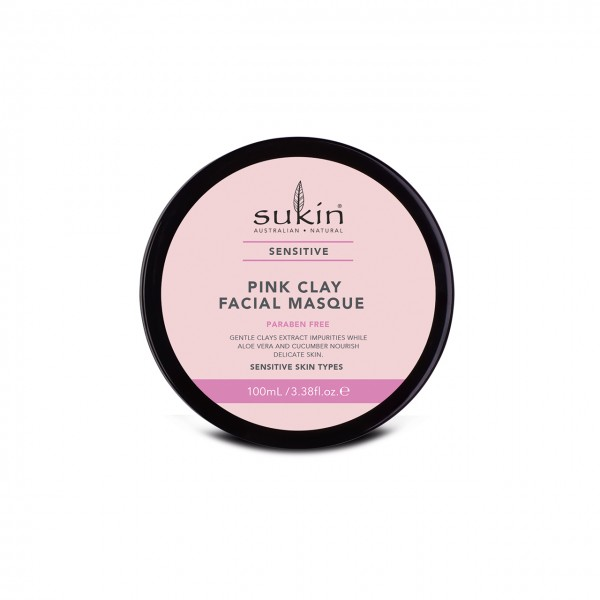 Sensitive Pink Clay Facial Masque