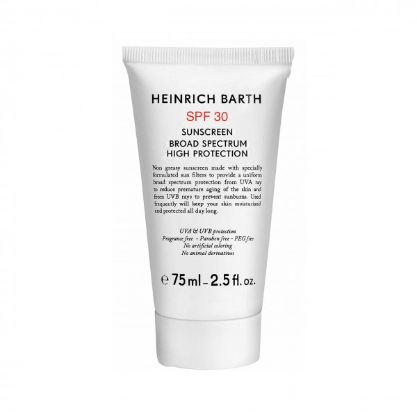 SPF 30 Sunscreen Broad Spectrum High Protection
