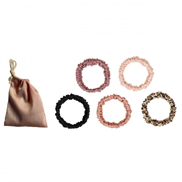 Silky Hairbands - Cameo Rose